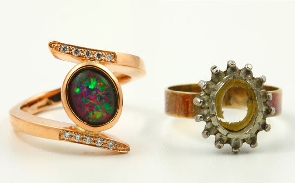 Remodelling - old jewellery